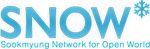 Sookmyung Network for Open World (SNOW) logo